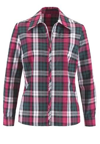 Casual Looks Bluse mit Reißverschluss kaufen