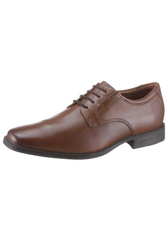 Clarks Schnürschuh »Tilden_Plain«, mit komfortablem Fußbett kaufen