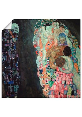 Artland Wandbild »Tod und Leben« kaufen
