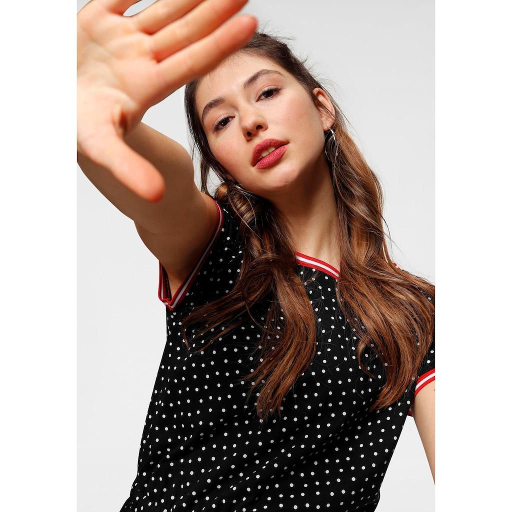 AJC Jerseykleid, AJC Kleid in tollem Allover-Print oder Streifenlook
