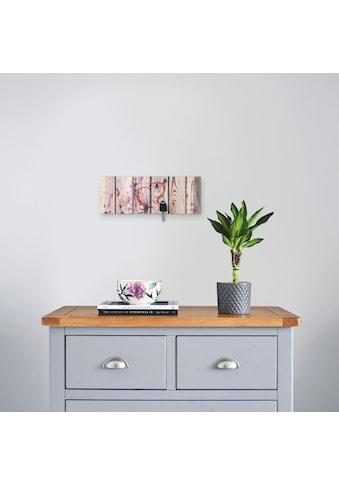 Artland Schlüsselbrett »Vintage Hintergrund Holzwand mit Herz« kaufen