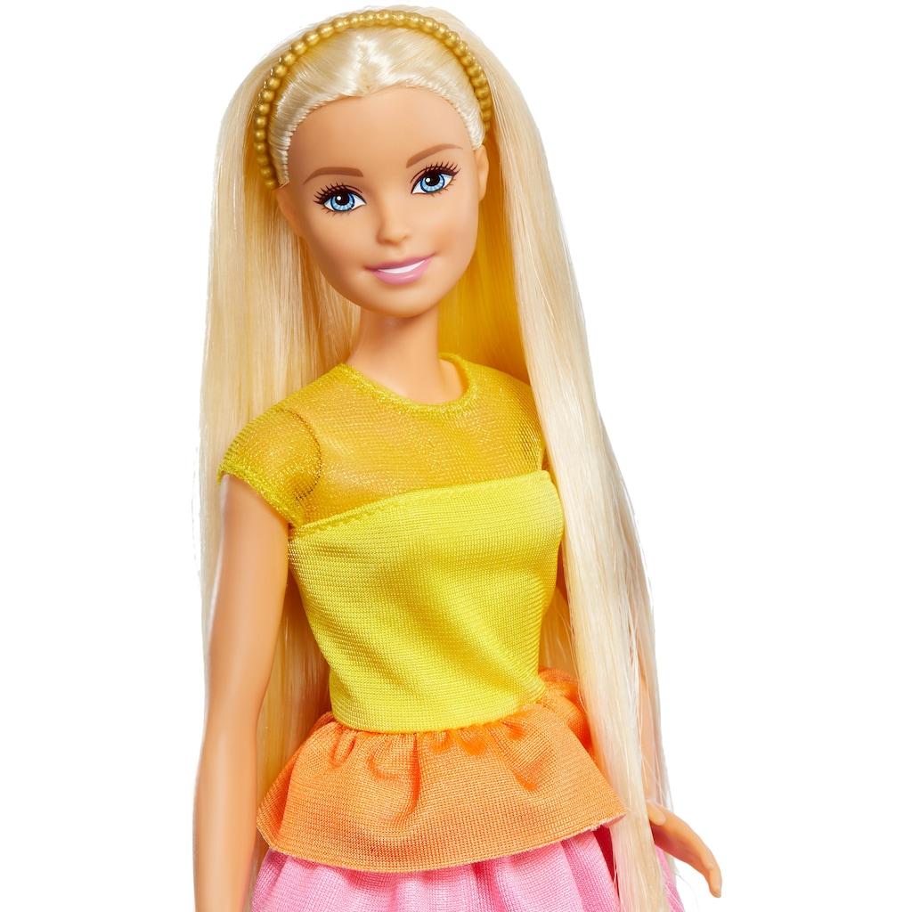 Barbie Anziehpuppe »Locken-Style Puppe, blond«