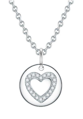 Rafaela Donata Herzkette »50115009«, mit Zirkonia kaufen