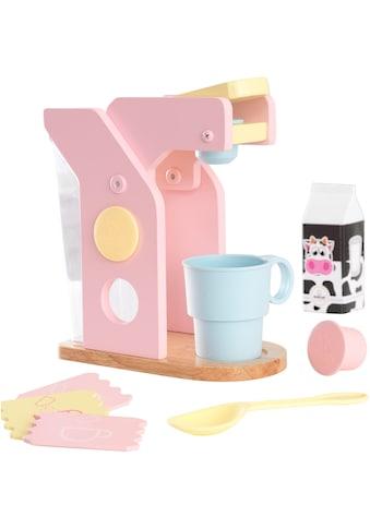 KidKraft® Kinder-Kaffeemaschine »Spielset Kaffee, Pastellfarben«, (10 tlg.), mit Tasse... kaufen