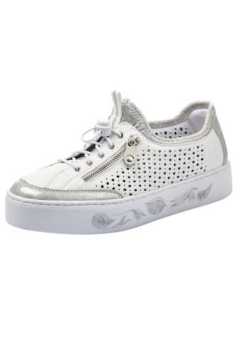 Rieker Slip-On Sneaker, mit markanter Plateausohle kaufen
