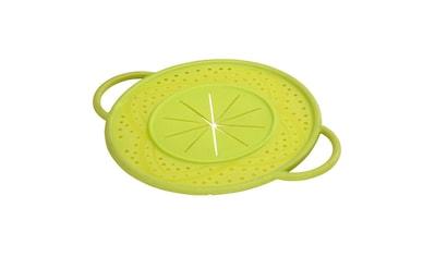 Xavax Überkochschutz aus Silikon, rund, 21 cm, Grün »21 cm, grün, für Topf, Pfanne« kaufen