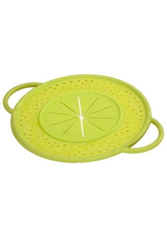 Xavax Überkochschutz aus Silikon, rund, 21 cm, Grün kaufen