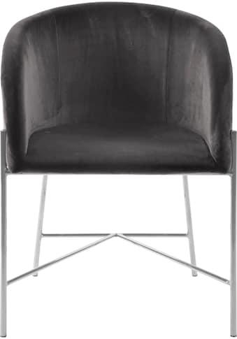 andas Esszimmerstuhl »Nixie«, mit zwei unterschiedlichen Beinfarben und Bezugsqualitäten erhältlich, Sitzhöhe 47 cm kaufen