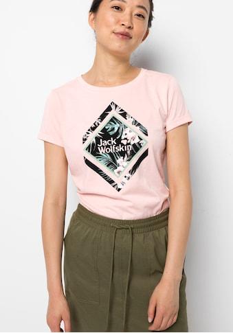 Jack Wolfskin T-Shirt »TROPICAL SQUARE T W« kaufen