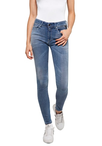 Replay Skinny-fit-Jeans »Luzien-White Shades«, in cooler Used-Waschung kaufen