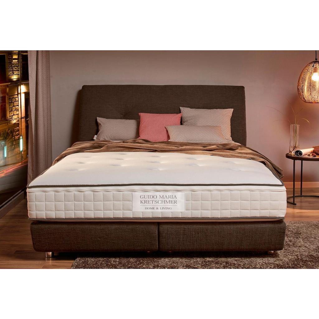 Guido Maria Kretschmer Home&Living Taschenfederkernmatratze »Royal Spring«, 1000 Federn, (1 St.), 7-Zonen Tonnentaschenfederkern, gute Beluftung, eine Leistungsstarke Matratze für gehobenen Schlafkomfort