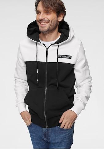 Calvin Klein Kapuzensweatjacke »COLOR BLOCK ZIP THROUGH HOODIE« kaufen