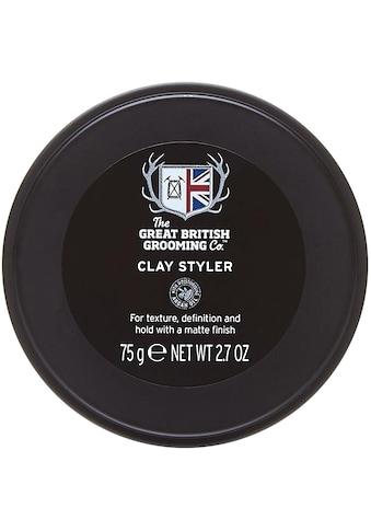 """The Great British Grooming Co. Haargel """"Clay Styler"""", mittlerer bis starker Halt kaufen"""