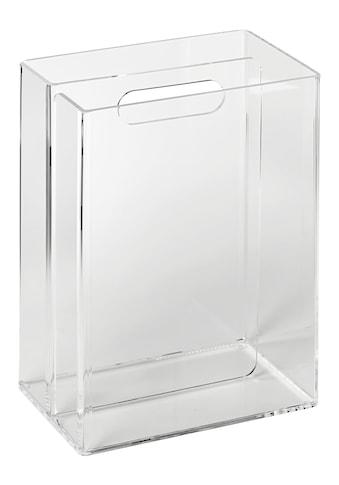 Zeitungssammler aus transparentem Acrylglas kaufen