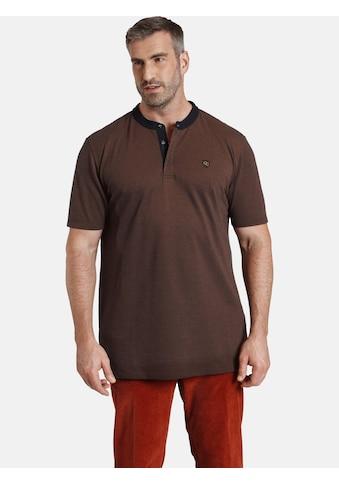 Charles Colby T-Shirt »EARL DEREK«, mit farbigem Kragen kaufen