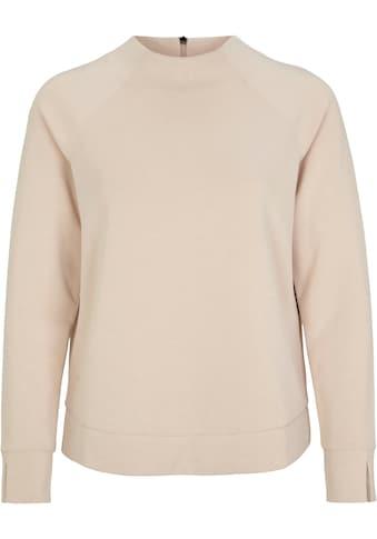 s.Oliver BLACK LABEL Sweatshirt, mit hohem Rundhals-Ausschnitt und Raglanarm mit Schlitz kaufen