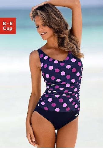 LASCANA Badeanzug, im schönen Punkte-Design kaufen