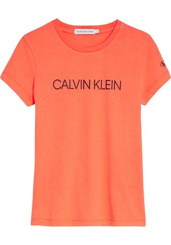 Calvin Klein Jeans T - Shirt »INSTITUTIONAL SLIM« kaufen