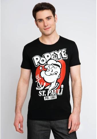 LOGOSHIRT T-Shirt mit tollem Popeye-Frontprint kaufen