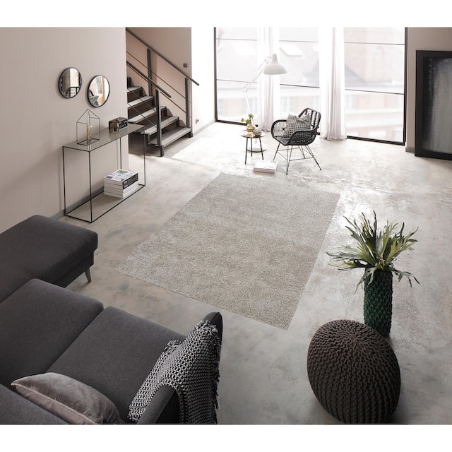Hochflor-Teppich, »Shaggy 30«, Home affaire, rechteckig, Höhe 30 mm, maschinell gewebt