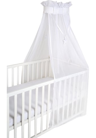 roba® Betthimmel »Air safe asleep® uni, weiß, mesh« kaufen