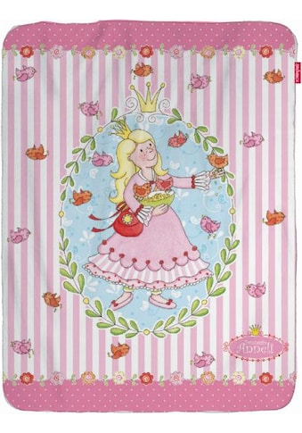 Wohndecke »Prinzessin Anneli Flower«, mit Prinzessin & Vögeln kaufen