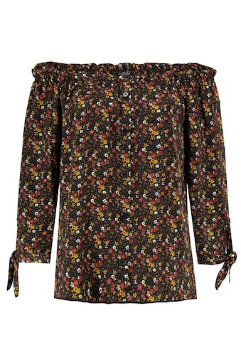 SUBLEVEL Carmenbluse, mit Blumenprint kaufen