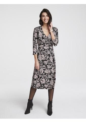 Jerseykleid in Wickeloptik kaufen