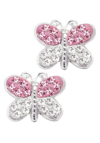 Firetti Paar Ohrstecker »Schmetterling«, mit Swarovski® Kristallen kaufen