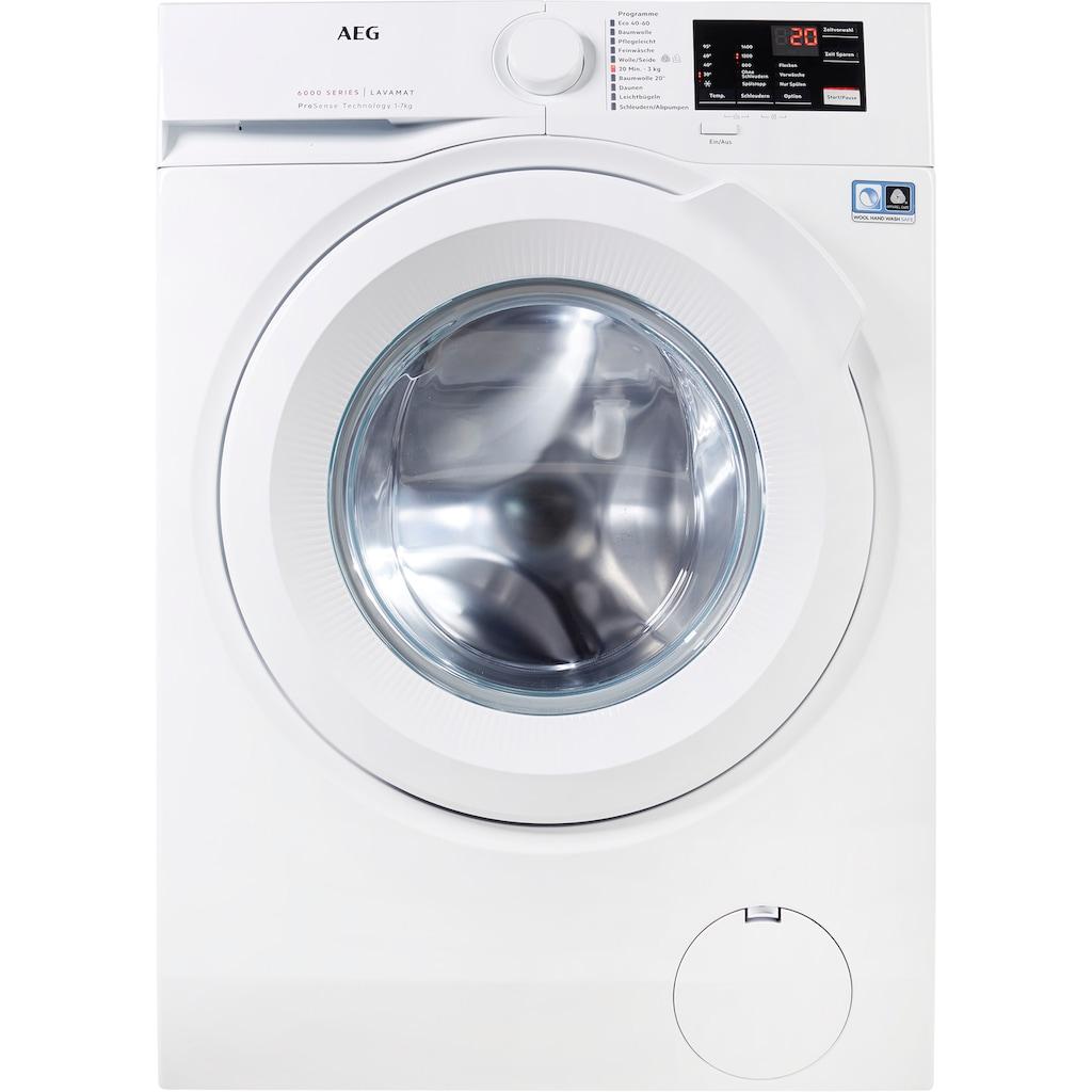 AEG Waschmaschine, L6FBA5470, 7 kg, 1400 U/min
