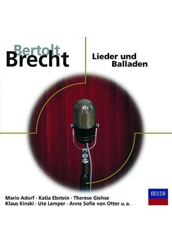 Musik - CD Lieder Und Balladen / DIVERSE KLASSIK, (1 CD) kaufen