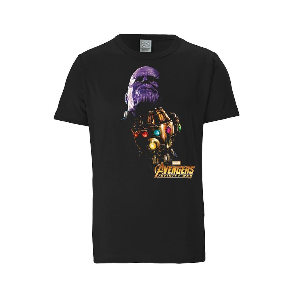 LOGOSHIRT T-Shirt mit Thanos-Print