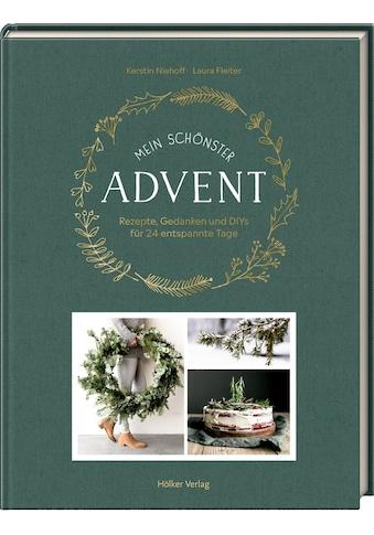 Buch »Mein schönster Advent / Kerstin Niehoff, Laura Fleiter« kaufen