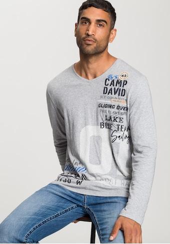 CAMP DAVID Langarmshirt kaufen