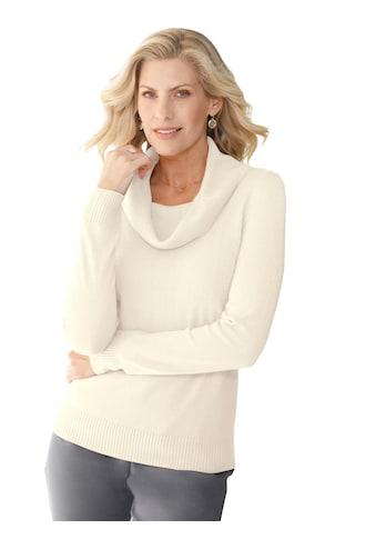 Classic Basics Pullover mit dezenter Raffung an den Schultern kaufen
