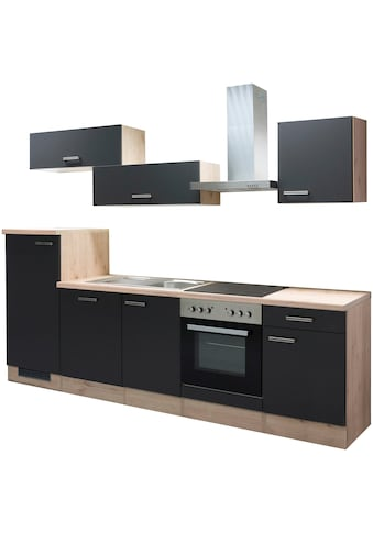 Flex-Well Küchenzeile »Antigua«, mit E-Geräten, Gesamtbreite 280 cm kaufen