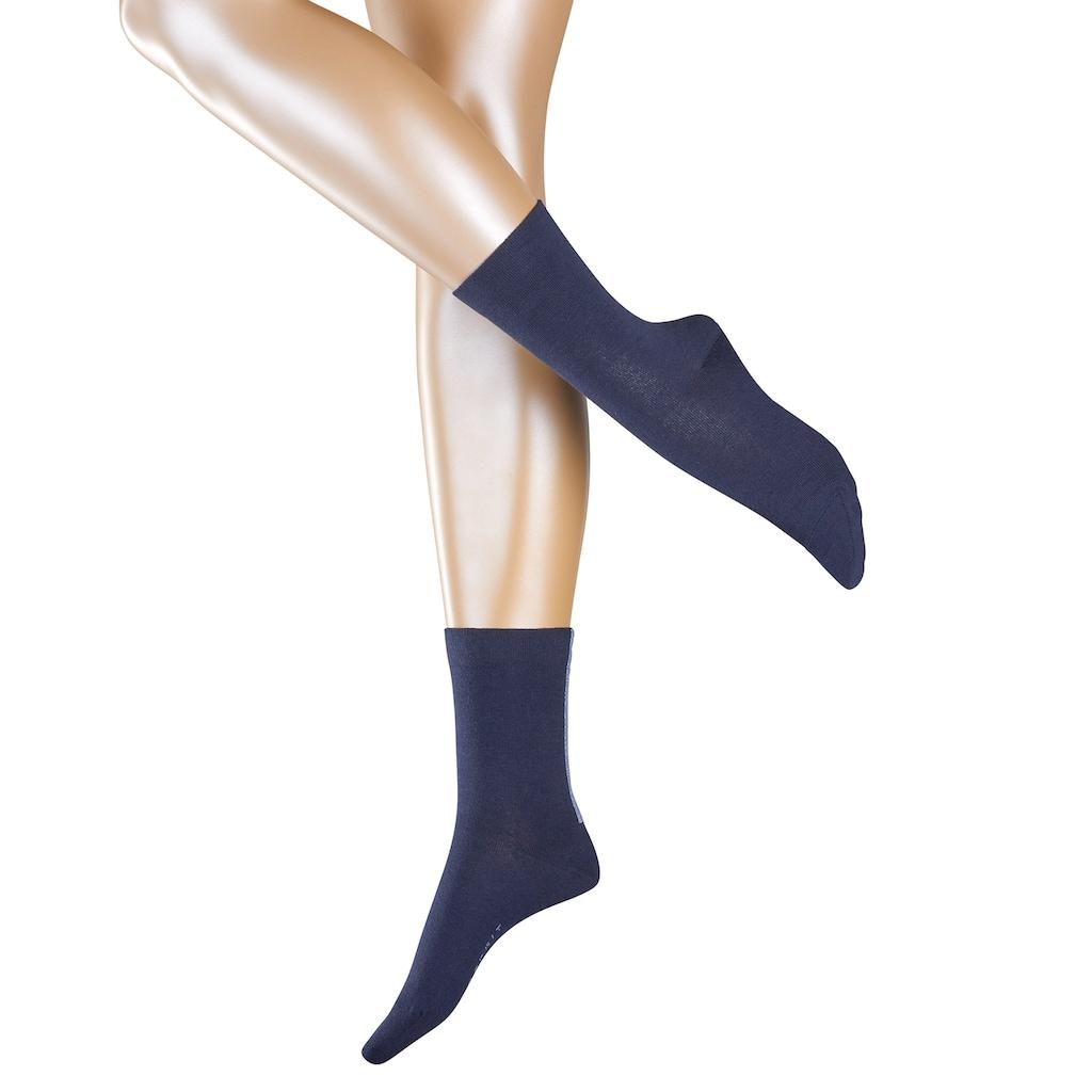 Esprit Socken »Accent Stripe 2-Pack«, (2 Paar), mit glitzerndem Akzentstreifen