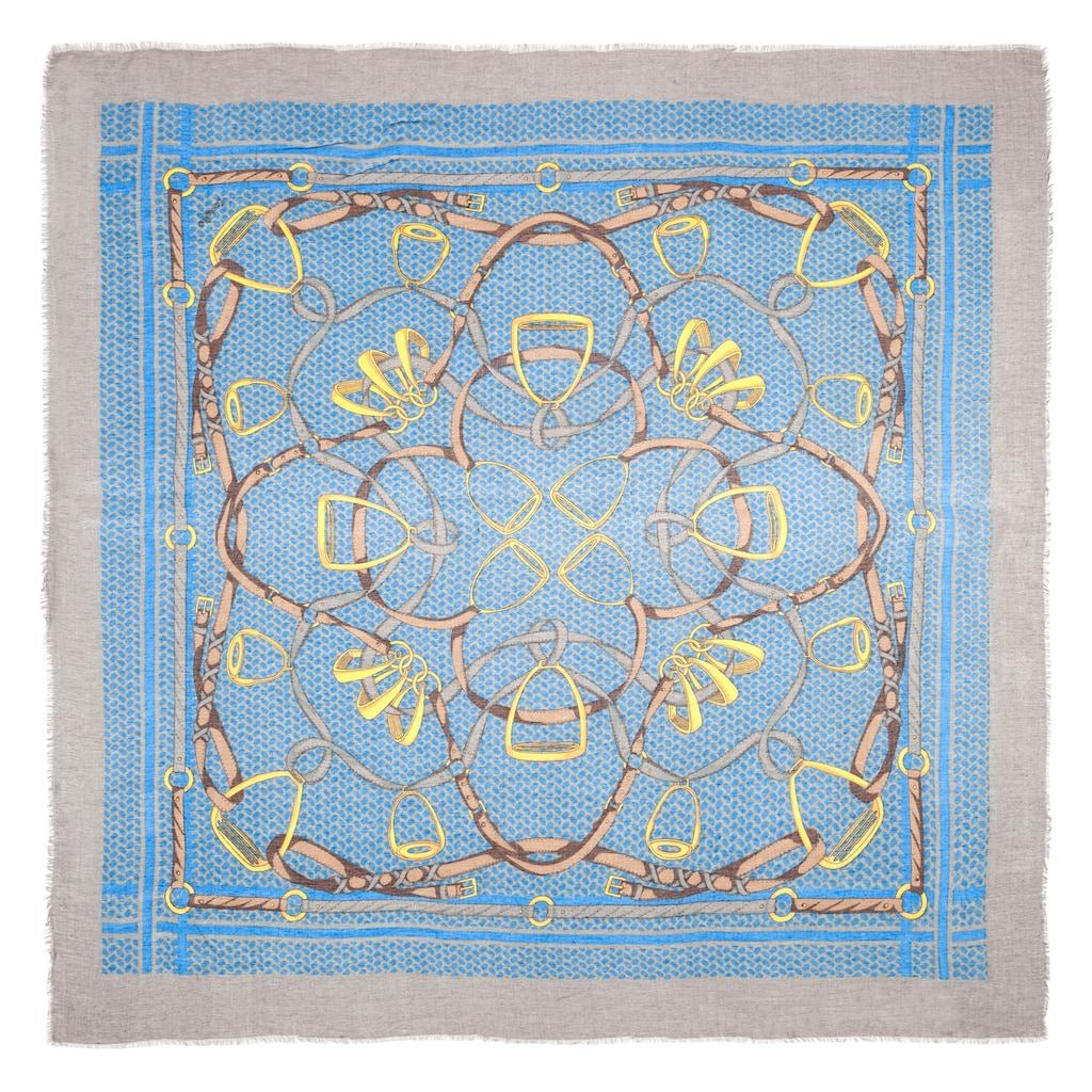 Codello XL-Tuch aus Modal mit klassischem Foulard-Muster
