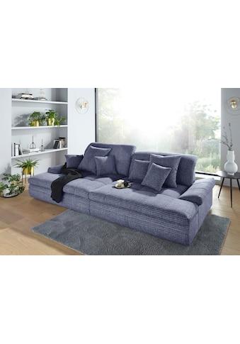 Nova Via Big-Sofa, wahlweise mit Kopfteilverstellung und RGB-LED-Beleuchtung kaufen