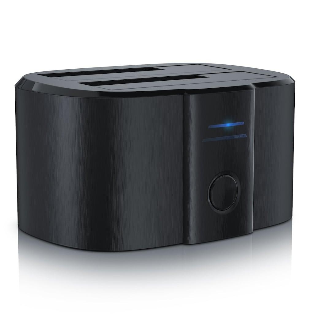 """CSL USB 3.0 Festplatten Klon Dockingstation inkl. UASP-Unterstützung »2,5""""+3,5"""" / SATA-I+II+III«"""