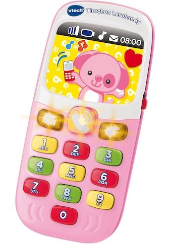 Vtech® Spieltelefon »VTech Baby Tierchen Lernhandy, pink«, mit Licht und Sound kaufen
