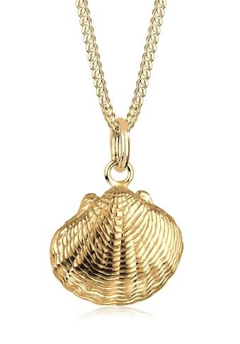 Elli Kette mit Anhänger »Muschel Urlaub Meer Maritim 925 Sterling Silber« kaufen