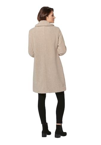 Isabell Schmitt Collection Mantel aus flauschigem Teddyfleece kaufen