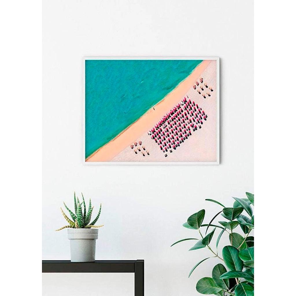 Komar Poster »South Beach«, Strand, Höhe: 30cm