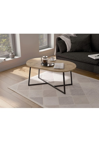 my home Couchtisch »Dinise«, mit ovalförmiger Tischplatte kaufen