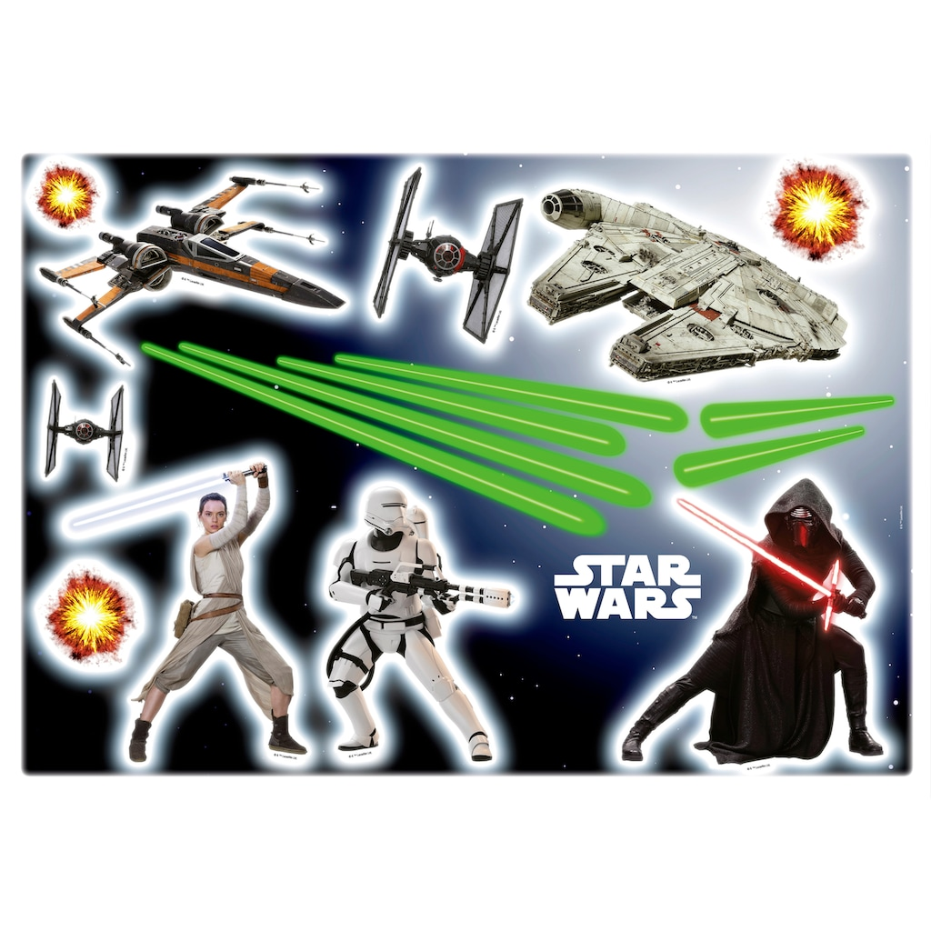 Komar Wandtattoo »Star Wars«, selbstklebend, rückstandslos abziehbar
