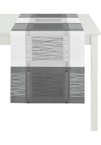 Tischläufer, »COMO, LOFT STYLE, Jacquard«, APELT (1 - tlg.) kaufen