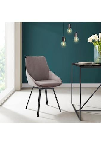INOSIGN Esszimmerstuhl »Merisa« 2er - Set mit gepolstertem Sitz und Rückenlehne, modernes Design, Drehbar kaufen