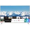 "LG LED-Fernseher »49UN73906LE«, 123 cm/49 "", 4K Ultra HD, Smart-TV, Gehäusefarbe weiß"