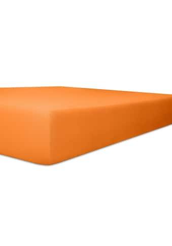 Kneer Spannbettlaken »Easy-Stretch«, aus weichem Jersey mit Elasthan kaufen